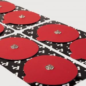 Сменные электроды для миостимулятора PowerDot красные