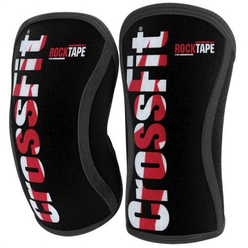 Наколенники RockTape Assassins CrossFit Red 5 мм (пара)