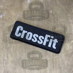 Патч CrossFit Black/White Large (большой)