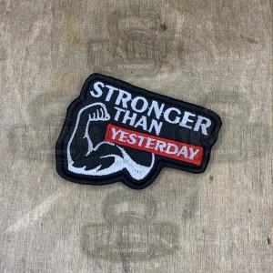 Патч STRONGER than Yesterday