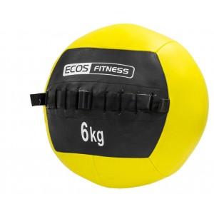 Медицинский мяч (медбол) EcosFitness 6кг