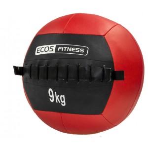 Медицинский мяч (медбол) EcosFitness 9кг