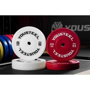 Диск YouSteel технические пластиковые 2,5-5 кг