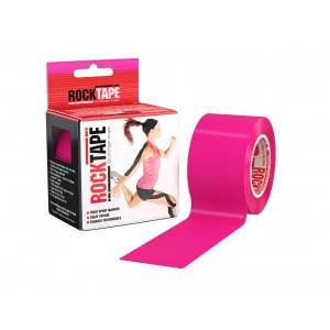 Тейп кинезиологический Rocktape, 5см х 5м, розовый