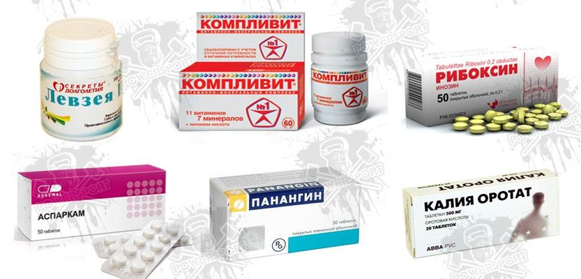 Аптечные препараты для кроссфит-атлета