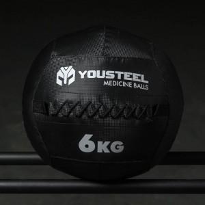 Медицинский мяч YouSteel Carbon 6 кг