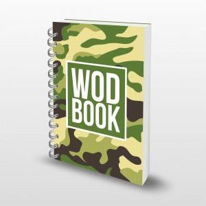 Кроссфит-дневник WodBook - GreenCamo