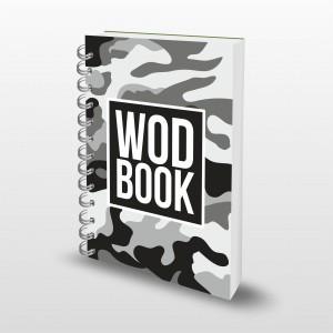 Кроссфит-дневник WodBook - GreyCamo