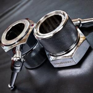 Замки  для штанги олимпийские YouSteel Competition Collars 2,5 кг (пара)